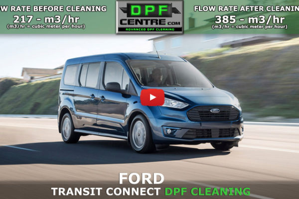 Ford Transit Custom DPF Cleaning