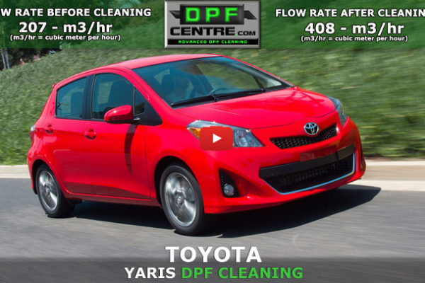 Toyota Yaris 1.4 D-4D DPF Cleaning