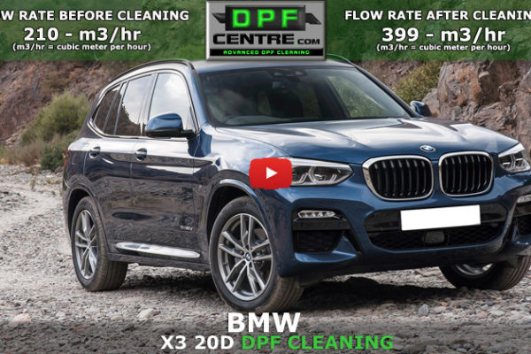 BMW X3 2.0 DPF Cleaning No views