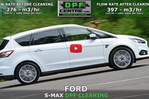 Ford S-Max 2.0 TDCI DPF Cleaning