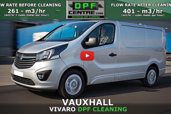 Vauxhall Vivaro 1.6 DTI DPF Cleaning