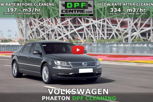 Volkswagen Phaeton 3.0 TDI DPF Cleaning