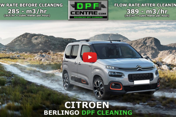Citroen Berlingo 1.6 HDI DPF Cleaning
