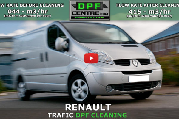 Renault Trafic 2.0 DCI DPF Cleaning