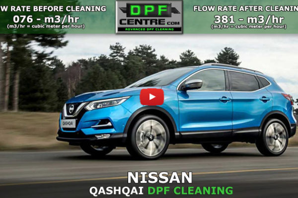 Nissan Qashqai 1.5 DCI DPF Cleaning