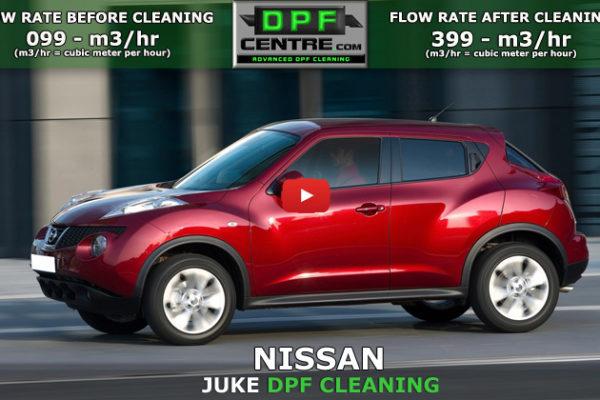 Nissan Juke 1.6 DC DPF Cleaning