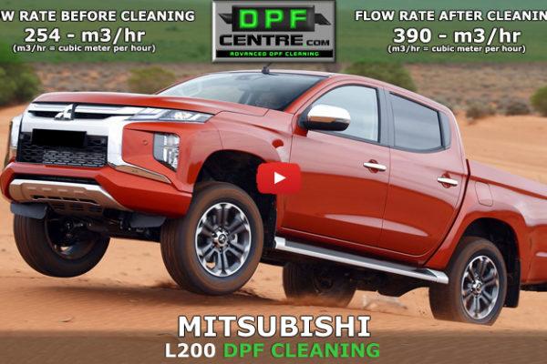 Mitsubishi L200 2.4 DI-D DPF Cleaning