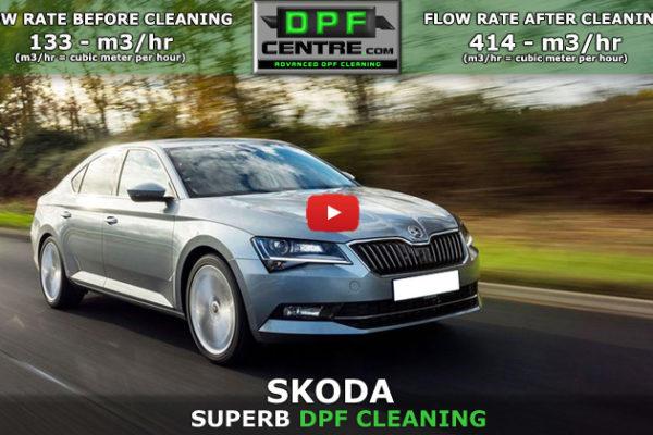 Skoda Superb 2.0 TDI DPF Cleaning