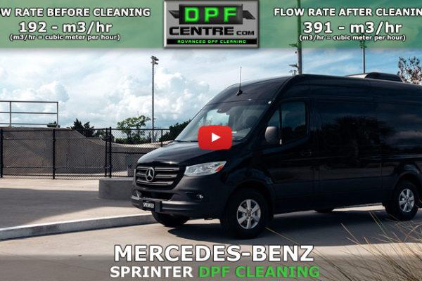 Mercedes-Benz Sprinter 2.1 CDI DPF Cleaning