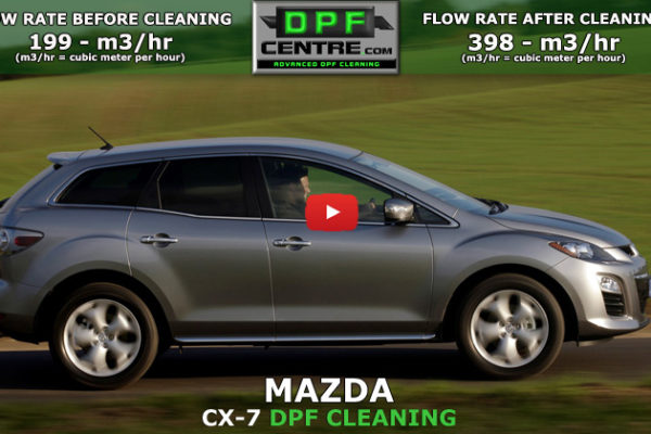 Mazda CX-7 2.2 DPF Cleaning