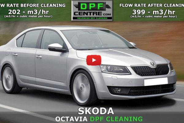 Skoda Octavia 1.6 TDI DPF Cleaning