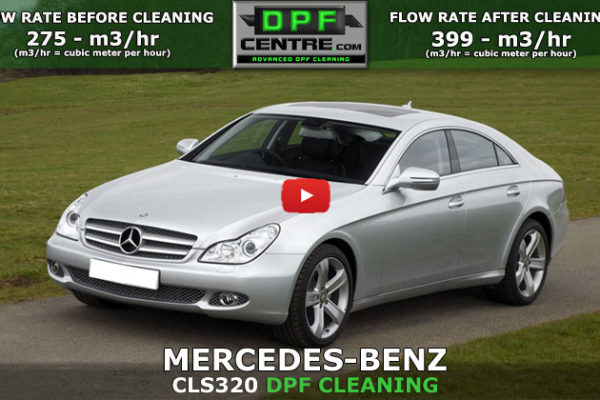 Mercedes-Benz CLS320 3.0 CDI DPF Cleaning