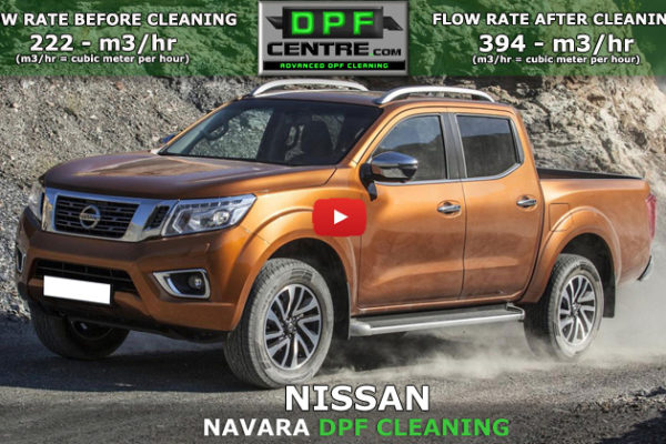 Nissan Navara 2.5 DCI DPF Cleaning