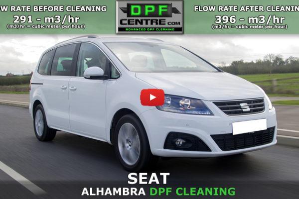 Seat Alhambra 2.0 TDI DPF Cleaning
