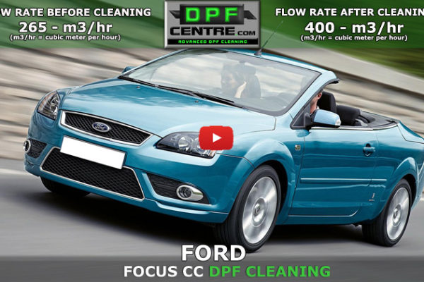 Ford Focus CC 2.0 TDCI DPF Cleaning