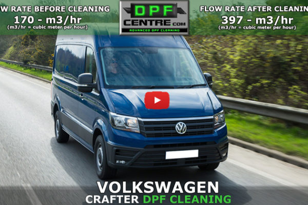 Volkswagen Crafter 2.0 TDI DPF Cleaning