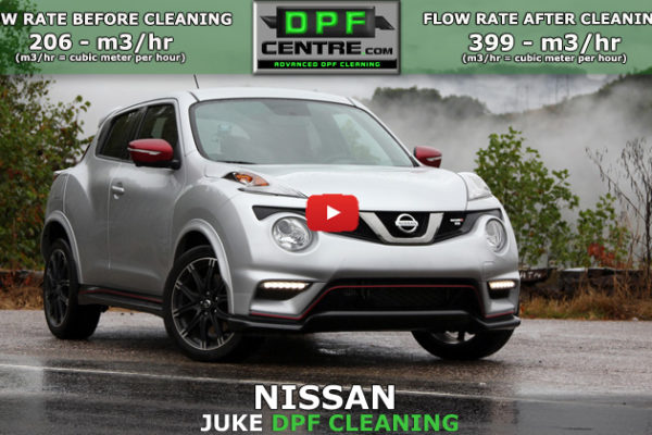 Nissan Juke 1.6 DCI DPF Cleaning