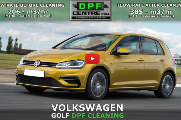 Volkswagen Golf 2.0 TDI DPF Cleaning