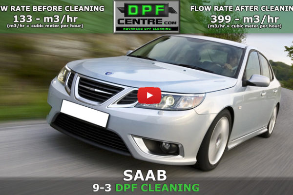 Saab 9-3 1.9 TID DPF Cleaning